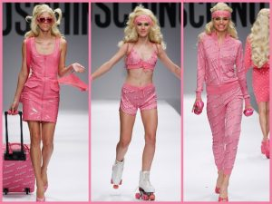 moschino+barbie+sfilata+MILANO+2014
