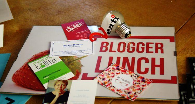 Blogger lunch aprile - Simona Papaluca