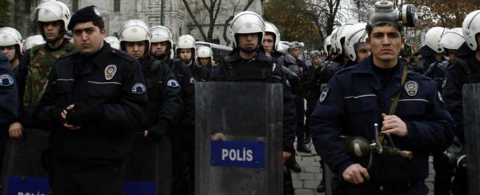 polizia turca